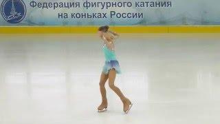 Дарья Зубаненко, КП, Первенство Москвы (мл.вз.) 2016 (мл. группа)