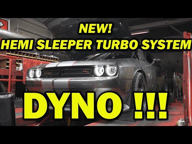 NEW HELLION TWIN TURBO HEMI SLEEPER KIT LIGHTS UP THE DYNO!