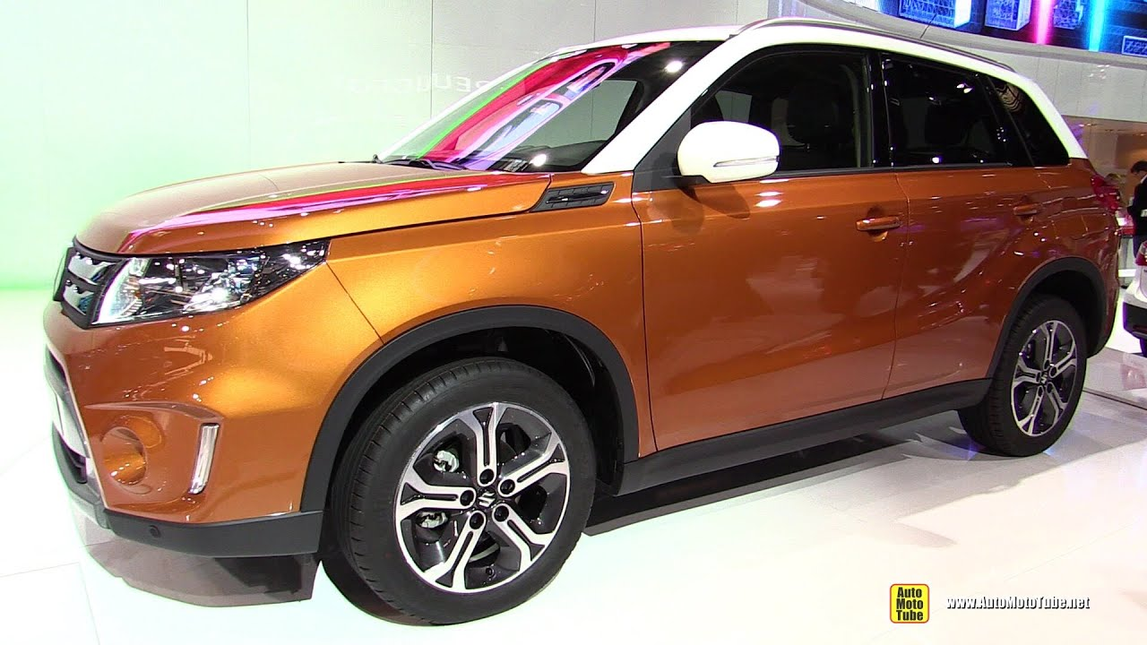 2015 suzuki vitara exterior and interior walkaround 2014 paris auto show youtube. Black Bedroom Furniture Sets. Home Design Ideas