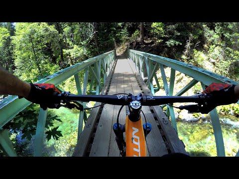 FULL RUN: Mountain Biking Downieville From Top To Bottom