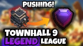 Clash Of Clans - (TH9) ROAD TO LEGEND LEAGUE