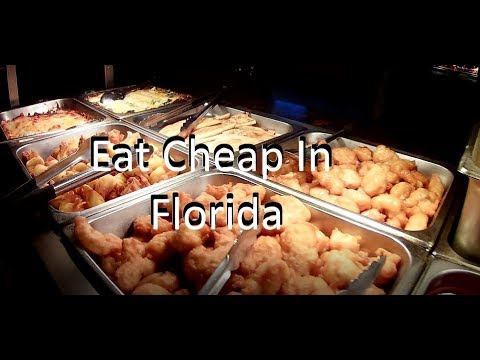 Cheap Lunch - Chinese Buffet In  Florida