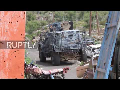 Yemen: Government forces battle Houthis in Taiz after peace talks break down