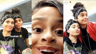 Kehlani | Snapchat Story | 14 October 2017 w/ Girlfriend Shaina