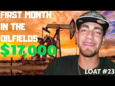 My First Month in The Oil Field as a Frac Sand Trucker With Bridger Transportation