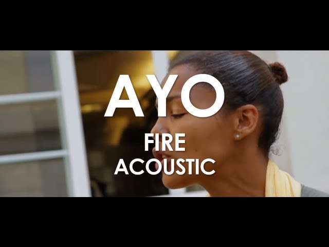 Ayo - Fire - Acoustic [ Live in Paris ] Travel Video