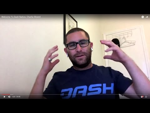 Welcome To Dash Nation, Charlie Shrem!
