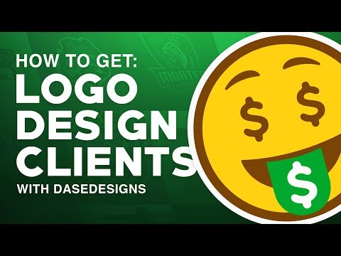 How to get Logo Design Clients   My 5 Steps with DaseDesigns