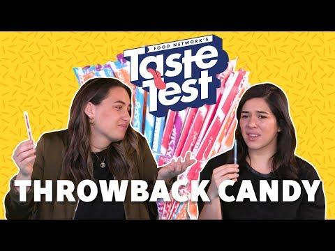 Taste Test: Throwback Candy   Food Network