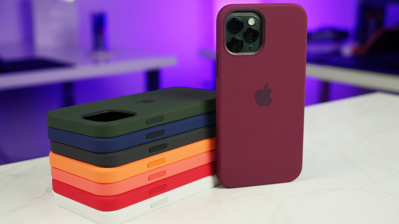 iPhone 12 Silicone Case Review - All Colors! - YouTube