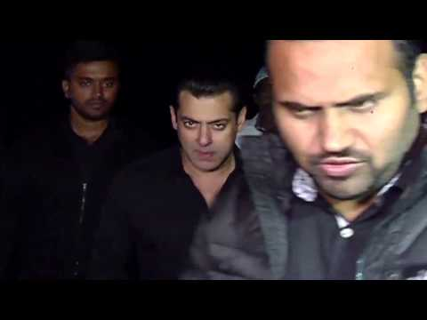 Salman Khan On His Birthday 2016 With Media