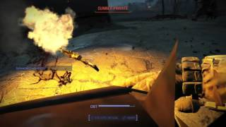 FALLOUT 4: Defend the Castle - MASSIVE Settlement Attack! Defense VS Gunners [#PS4Share]