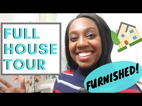 OFFICIAL FURNISHED HOUSE TOUR! 2019 (1 year Update!)