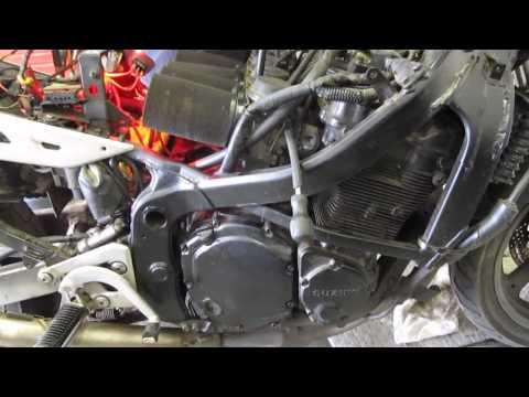 1991 1990 1993 Suzuki Gsx750f Katana 750 Motor And Parts For Sale On Ebay Youtube