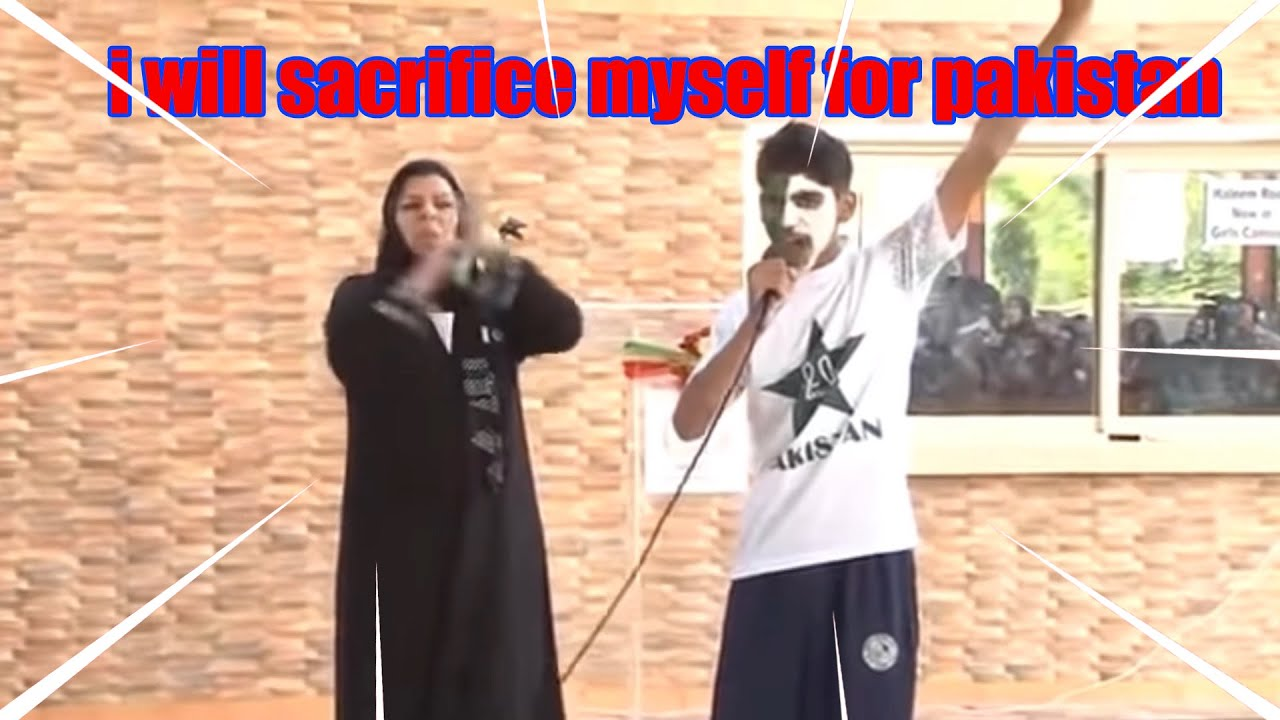 i will sacrifice my own life for pakistan !!(meme) - YouTube