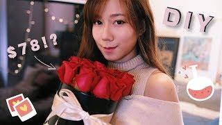 【另一半好威威????】機關情人節卡、玫瑰盒、皮製小禮物!!       adornDIY