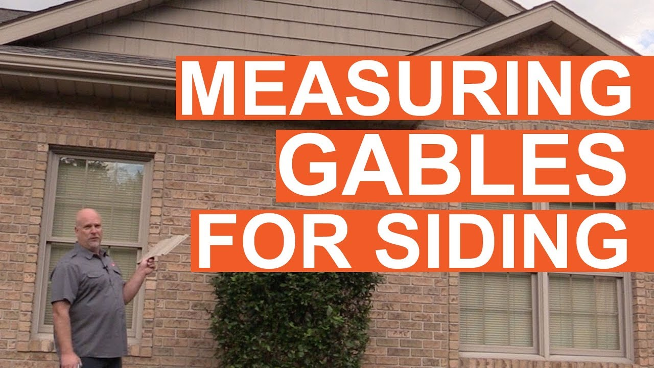 Tip Of The Week Measuring Gables Youtube