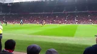 Manchester United Vs Hull City A.F.C. -  29. November 2014
