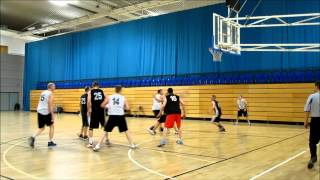 Sheffield Basketball League Div 1 Loxley V Rotherham Hawks Baskets Feb 2012