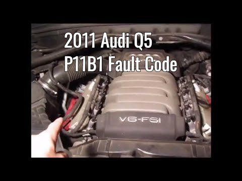 How to fix Audi fault code P11B1 Camshaft Position actuator – Easy DIY