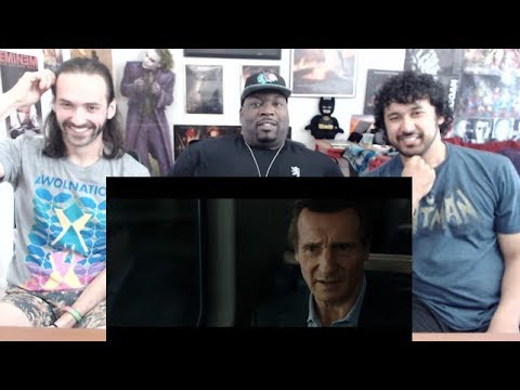 THE COMMUTER Teaser TRAILER #1 REACTION & REVIEW!!!