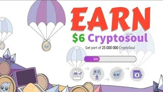 #Cryptosoul_Review6800 Token Earn - Live Payment Proof Part-1 || Best Earning Plan 100$ Daily