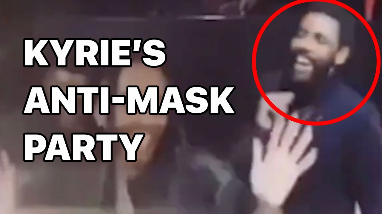 Kyrie Irving Partying Maskless: Birthday party leaked video, absent from  the Nets - YouTube