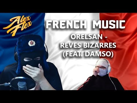 RUSSIAN BROS Alex Flex & Svenchik REACT TO FRENCH MUSIC   OrelSan - Rêves Bizarres (feat. Damso)