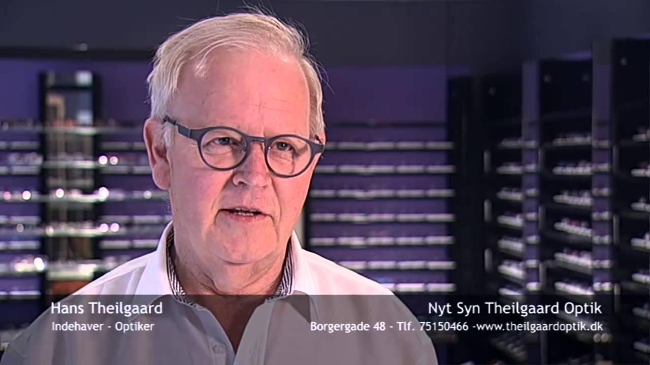 fcebfb925989 Helt ny butik i Borgergade - Nyt Syn Theilgaard Optik - YouTube
