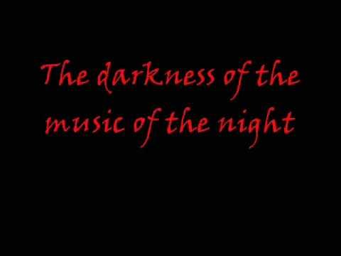 Music of the night - Phantom of the Opera (W/Lyrics)