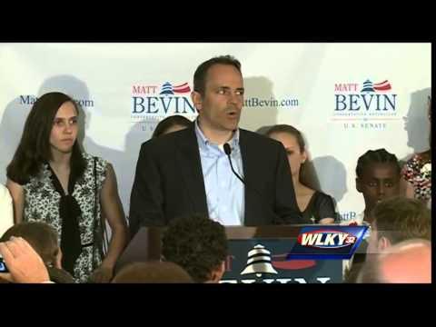 Complete video: Matt Bevin concession speech