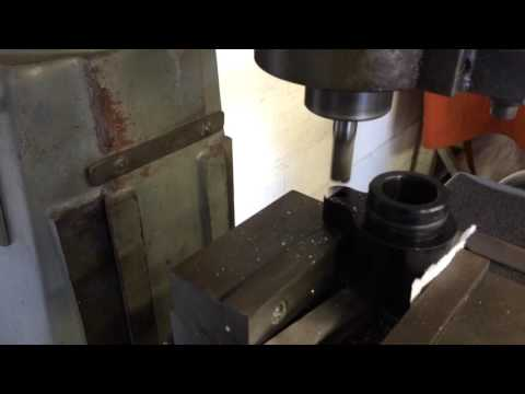 Milling Work For MMR Cooling Crossover Install