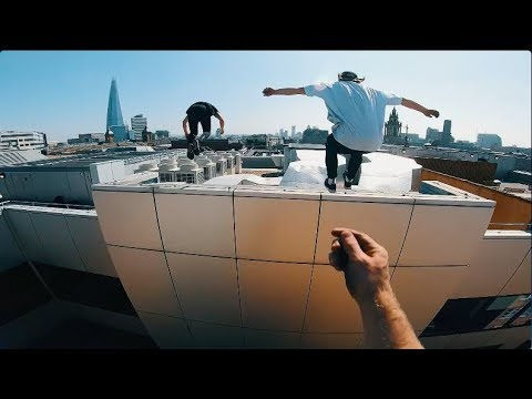 London Rooftop Escape POV 🇬🇧