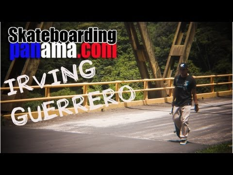 Irving Guerrero desde Boquete - Panama Skateboarding