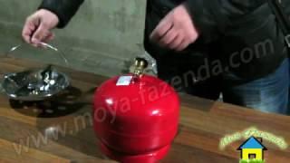 Установка редуктора на газовый баллон(Монтаж газового редуктора на баллон из комплекта Пикник. Купить редуктор можно тут: http://moya-fazenda.com/shop/balony/gazovyj..., 2016-11-07T15:43:01.000Z)