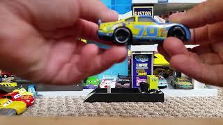 Mattel Disney Cars 3 Floyd Mulvihill Gasprin # 70 Diecast Review