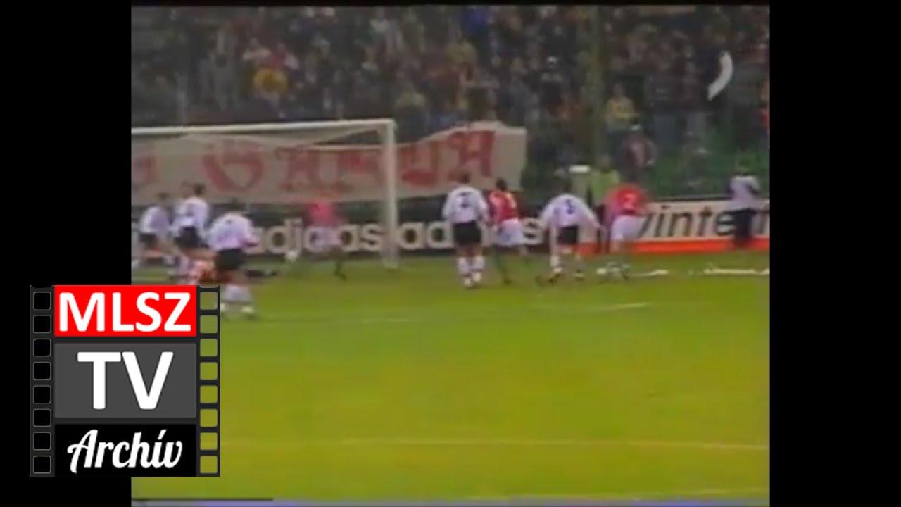 Magyarország-Svájc | 2-0 | 1998. 11. 18 | MLSZ TV Archív