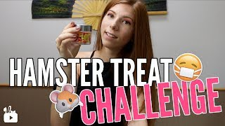 HAMSTER TREAT CHALLENGE | I'm so weird