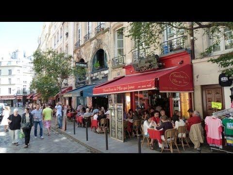 A walk in Saint-Germain-des-Prés in Paris - Travel to France with me and explore Paris!