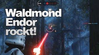 Waldmond Endor sieht so nice aus | Battlefront