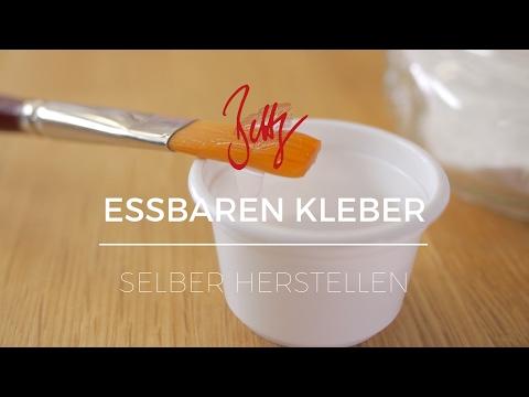 Essbaren Kleber selber herstellen | Betty´s Sugar Dreams