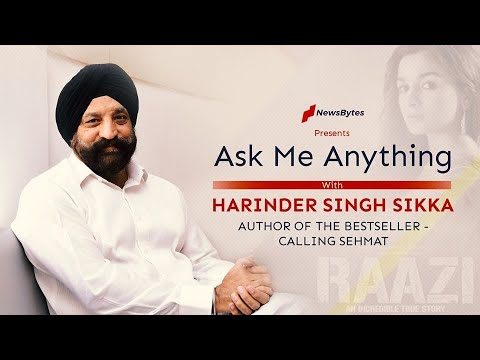 In conversation with Harinder Sikka, author of the bestseller Calling Sehmat (Raazi) | Interview