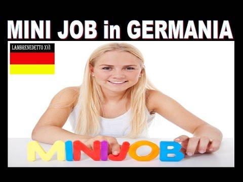 La  verita´sui MINI JOB in Germania !!! (   ecco cosa sono )
