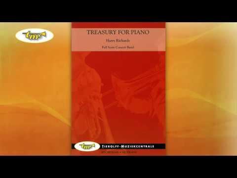 Treasury For Piano - Concert Band - Richards - Tierolff