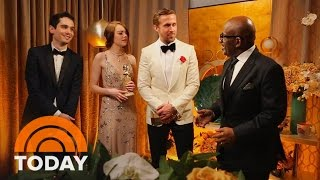 Ryan Gosling, Emma Stone, More: Al Roker Talks To Golden Globe Winners | TODAY