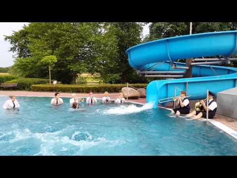 Cold-Water-Challenge 2014 - Musikzug Ense-Bremen
