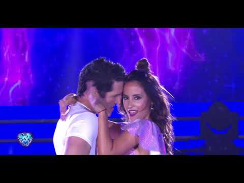 Lourdes Sánchez y Diego Ramos bailaron una Cumbia romántica en Bailando 2018