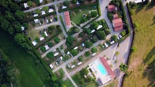 Camping L'Albanou vu du ciel