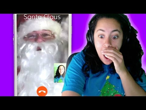 FaceTime and Calling Santa! (Mystery Gaming)