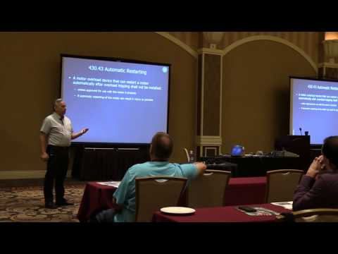 Electrical Training at EduCode held at the Orleans Hotel in  Las Vegas